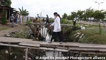 Ecuador Guayaquil | Coronavirus | Cristo del Consuelo