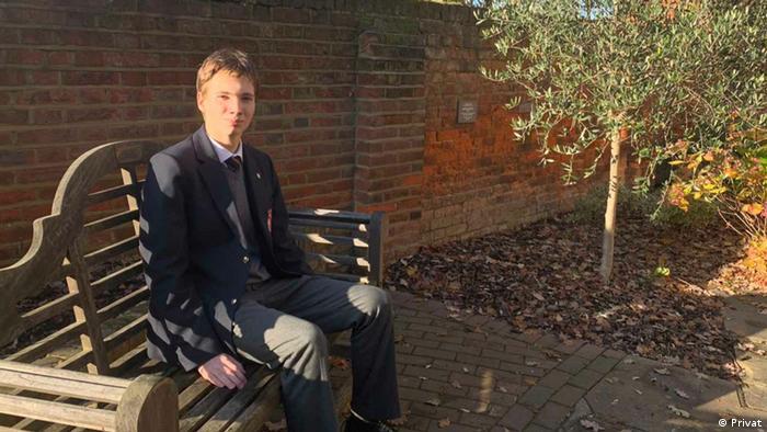 Din Ammar Tolj | Gewinner Mathematik-Wettbewerb in England