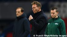 UEFA Champions League |Paris St. Germain vs. RB Leipzig | Julian Nagelsmann
