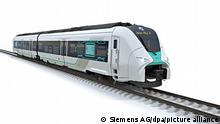 Siemens Pressebild Computerbild |Wasserstoffzug