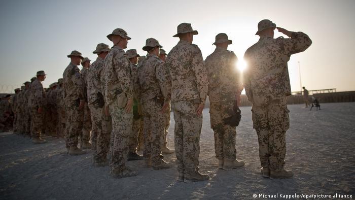 Немецкие солдаты в Афганистане