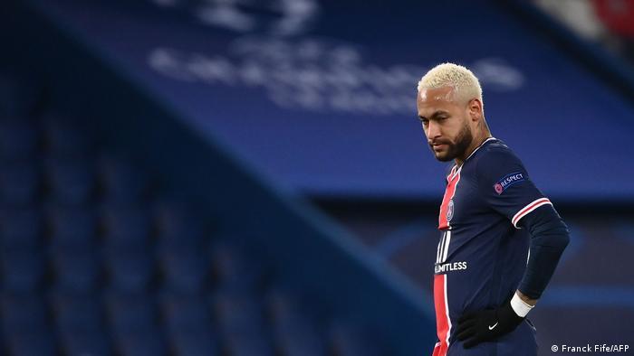 UEFA Champions League   Paris St. Germain vs. RB Leipzig   Neymar
