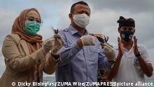 Indonesien Minister für maritime Angelegenheiten und Fischerei Edhy Prabowo