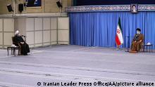 Iran Teheran | Ayatollah Ali Khamanei und Hassan Rouhani