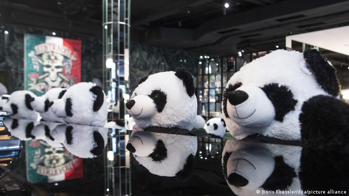 Панда-Мия - инсталляция из 100 панд во Франкфурте-на-Майне