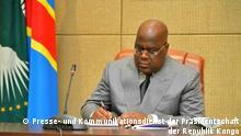 Nationalen Konsultationen in der Demokratischen Republik Kongo zwischen Präsident Félix Tshisekedi und politischen und sozialen Akteuren.