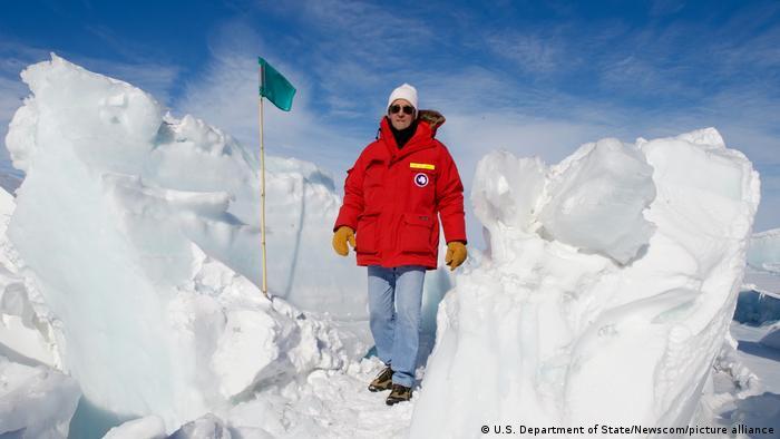 John Kerry na Antártida, em 2016