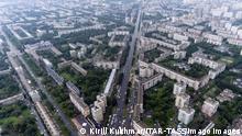 Russland Stadt Nowokusnetsk