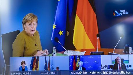 Γερμανία: Για γενικό lockdown αποφασίζουν Μέρκελ και κρατίδια