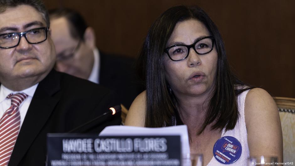 Haydeé Castillo bei der Sondertagung des Ständigen Rates