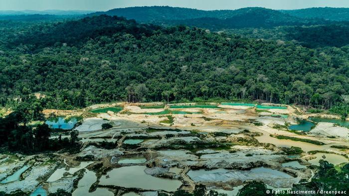 Sobrevoo pelo estado do Pará em 2019 registra garimpos ilegais na terra indígena Munduruku