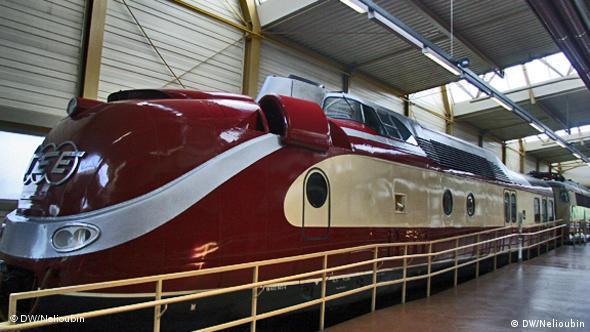 Скоростной локомотив VT 11.5 (602) 1957 года