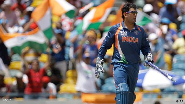 Mahendra Singh Dhoni Cricketspieler Flash-Galerie
