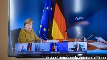 Deutschland I Bundeskanzlerin und Ministerpräsidenten beraten in Videokonferenz