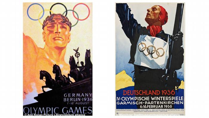 Poster Olympische Spiele im Nationalsozialismus