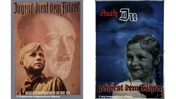Poster Hitlerjugend /Bund Deutscher Mädel