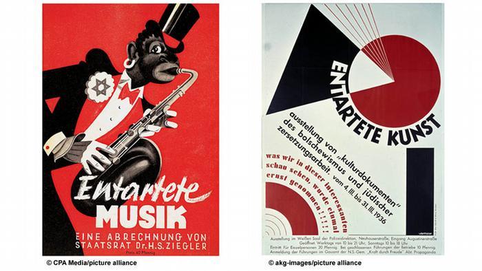 Plakat Entarte Musik / Entartete Kuns