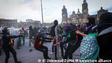 Mexiko Frauenproteste in Mexiko-Stadt