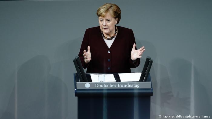 Berlin | Angela Merkel - Regierungserklärung zur Bewältigung der Corona-Pandemie