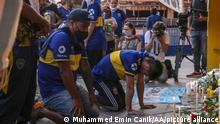 Argentinien Buenos Aires | Trauer um verstorbenen Fußballspieler Diego Maradona