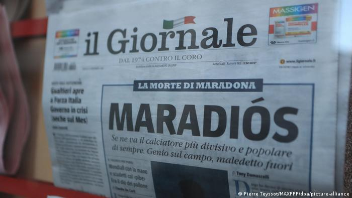 Tapa de Il Giornale.