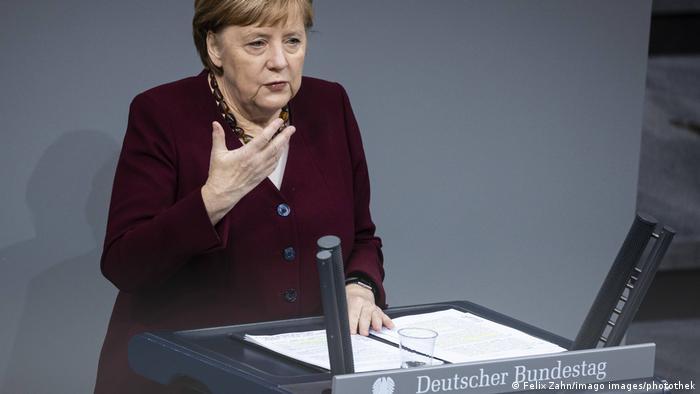 Deutschland   Berlin   Regierungserklärung   Bundeskanzlerin Angela Merkel