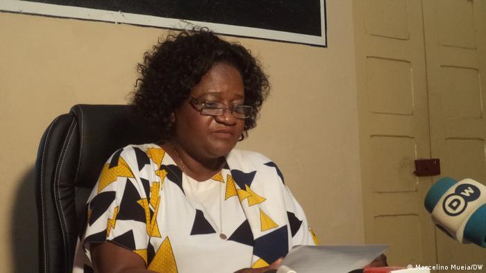 Mosambik Quelimane | Maria Elisa, regionale Vorsitzende der mosambikanischen Oppositionspartei RENAMO