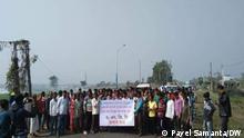 Indien Proteste für Entschädigung wegen Verseuchung durch Rohöl der Firma ONGC
