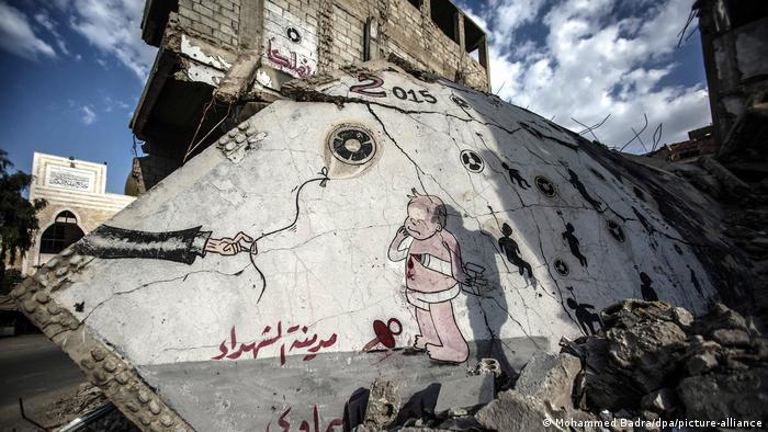 Syrien Dritter Jahrestag des Chemieangriffs auf Ghouta