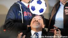 Italien Napoli - Diego Maradona 2013