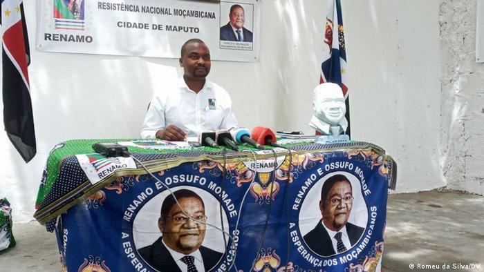 Mosambik   Arlindo Bila von der Oppositionspartei RENAMO