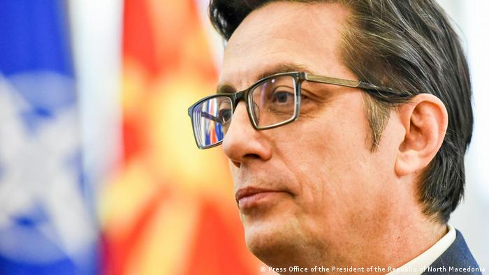 Nord-Mazedonien Skopje   Staatspräsident - Stevo Pendarovski