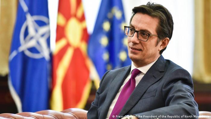 Nord-Mazedonien Skopje | Staatspräsident - Stevo Pendarovski