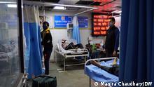 Indien Delhi | überbelegtes Krankenhauszimmer