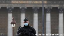 Frankreich I Nationalversammlung zur Abstimmung im Parlament