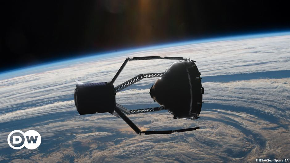 Space trash cleanup: ESA signs off on first-ever mission