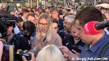 Russland Moskau | Protest der Opposition |Ljubow Sobol, Politikerin