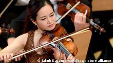 Violinistin Kim Bomsori