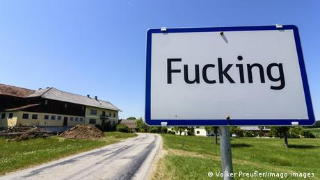 The town of Fucking will rename