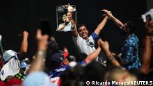 Argentinien Buenos Aires |Tod Diego Maradona |Trauer und Begräbnis