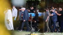 Argentinien Begräbnis Diego Maradona