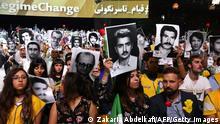 Frankreich Villepinte | Protest Nationaler Widerstandsrat des Iran