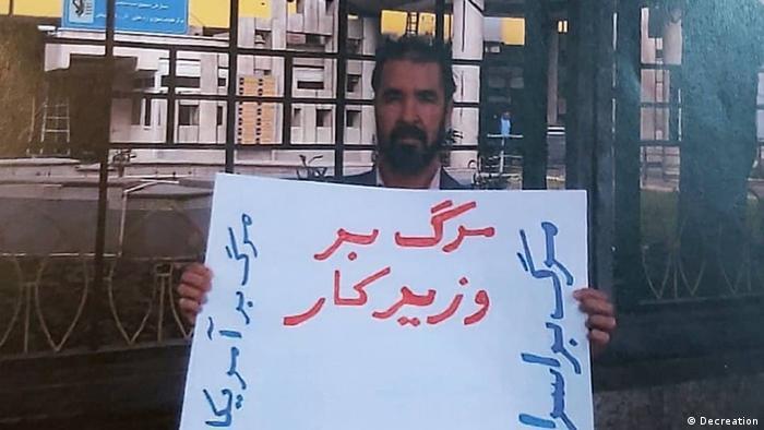 Iran | Dvoud Rafiee wegen Protest ausgepeitscht
