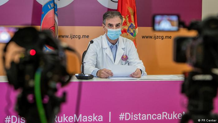Montenegro | Coronakrise: Boban Mugosa