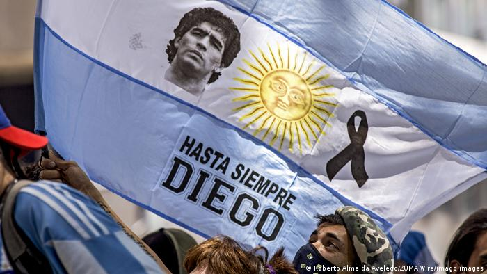 Argentina se despide de Maradona.