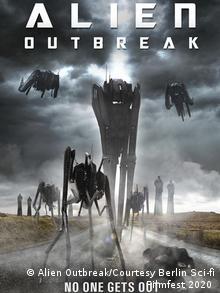 Berlin Sci-fi Filmfest - Film poster for Alien Outbreak