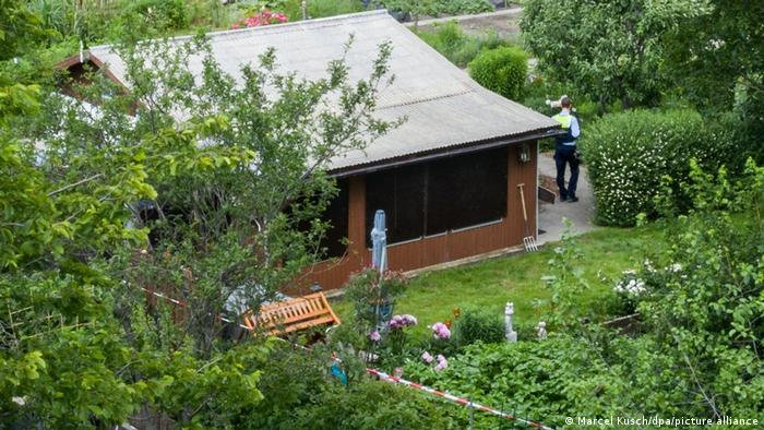 A garden home in Münster, Germany allegedly used to commit child sexual abuse