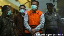 Indonesien Minister für Meeresangelegenheiten und Fischerei Edhy Prabowo