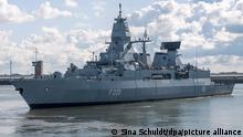 Bundeswehr Marine Fregatte Hamburg