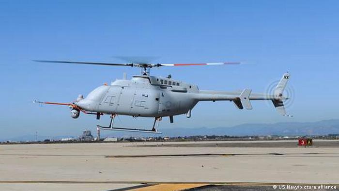یک بالگرد بدون سرنشین ساخت ایالات متحده آمریکا با قابلیت نشست و برخاست عمودی و توانائی اجرای عملیات از عرشه هر واحد شناور میباشد. سری بی این بالگرد به موشکهای ضد تانک و هوا به زمین مجهز شده است. تا کنون ۳۰ فروند از این هلیکوپترهای بدون سرنشین تحویل ارتش آمریکا شدهاند.